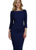 agatha-dress-navy blue